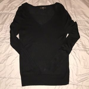 Mossimo (Target) Long Sleeve Black Sweater
